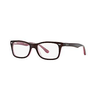 Ray-Ban RB5228 2126 Top braun auf Opal rosa Gläser