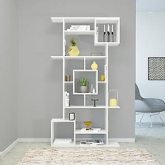 Libreria Marie Color Bianco in Truciolare Melaminico 92x28x173 cm