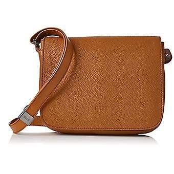 Bree Lady Top 12 Sa. Brown Ladies Handbag - Donna Braun Shoulder Bags (Sa. Brown) 8x20x25 cm (B x H T)
