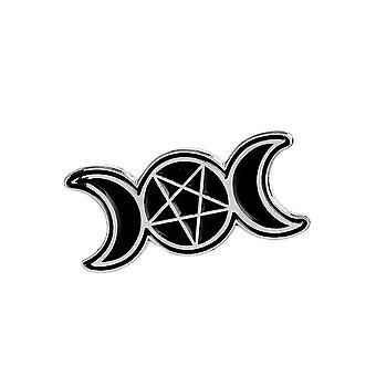 Attitude Clothing Triple Moon Goddess Enamel Pin