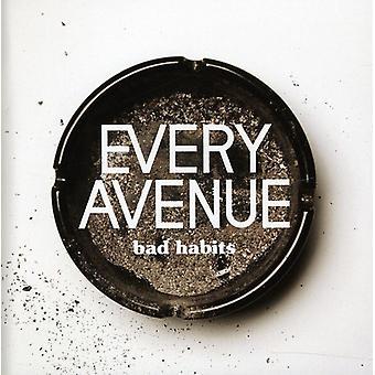 Every Avenue - Bad Habits [CD] USA import