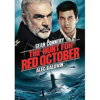 Jagten på røde oktober [DVD] USA import