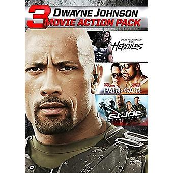 Dwayne Johnson Action Collection [DVD] USA import