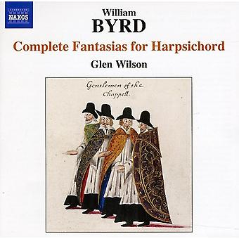 W. Byrd - Byrd: Complete Fantasias for Harpsichord [CD] USA import