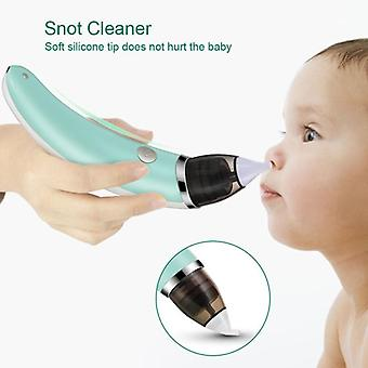 Baby Nasal Aspirator - Electric  Nose Cleaner With 2 Sizes Of Nose Tips And 5 Levels Of Suction Safe Hygienic