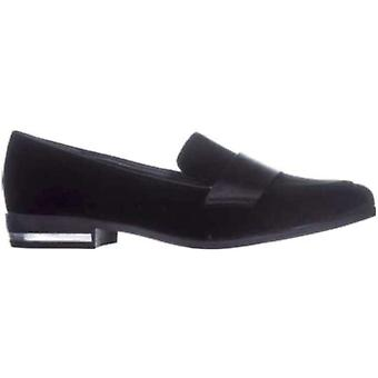 Bar III Women's Shoes Involve2f Velvet Almond Toe Loafers