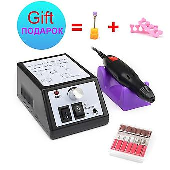 Electric Nail Drill File Equipment - Profession Pedicure Manicure Machine