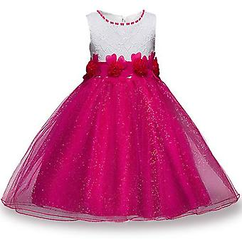 Summer Girls Party Flower Ball Gowns Dress, Style 2 Infant