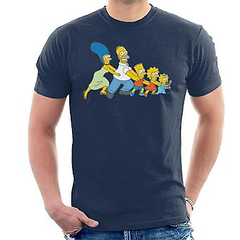 The Simpsons All Together Now Men's T-Shirt