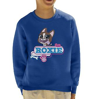 Littlest Pet Shop Roxie Tongue Hanging Out Kid's Sweatshirt