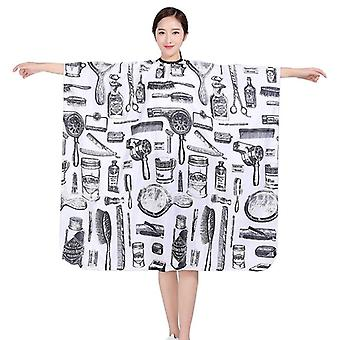Professional Hairdressing Cape Hair Cut Salon Barber Cloth Wrap -  Protect Gown