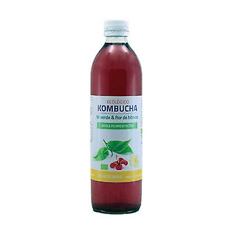 Green Tea and Hibiscus Flower Kombucha 500 ml