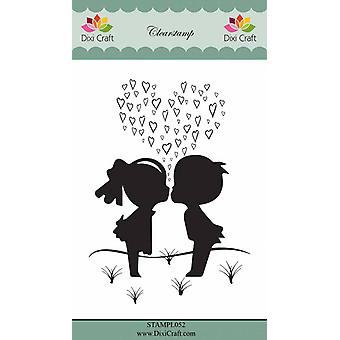 Dixi Craft Young Love Clear Stamp