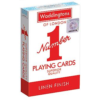 Waddingtons No.1 Playing Cards - Red