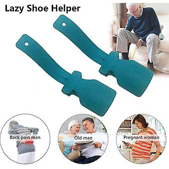 Lazy Unisex Wear Shoe Horn Helper - Shoehorn Shoe Enkel av og på Sko Solid Slip Aid Skohjelper