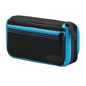 36-0701-03, Casemaster Plazma Plus Nero con custodia dardo rifinitura blu e tasca del telefono