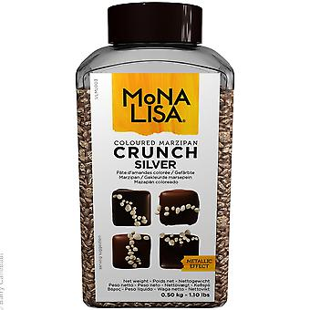 Mona Lisa Silver Crunch Marzipan Sprinkles