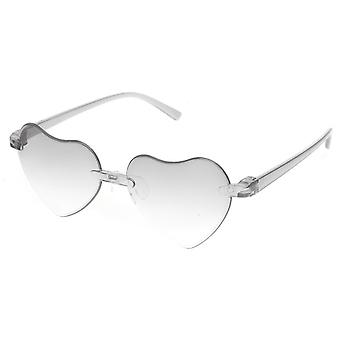 Sunglasses girl heart shaped girl cat. 3 grey (K-115)