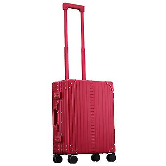 "ALEON International Carry-On Sac à main Trolley 21"" Trolley 4 rouleaux, 40 cm, 31,5 L, rouge"