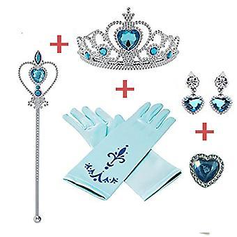 5st/lot Disney Princess Beauty Fashion Låtsas Spela- Frysta Tillbehör Love
