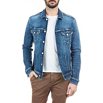 Replay Men's Aged 5 Years Sustainable Denim Jacket Regular Fit