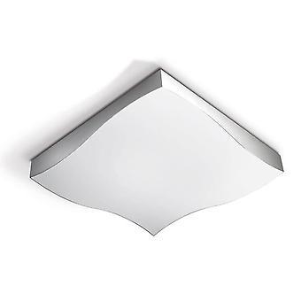 Leds-C4 GROK - LED 1 Leve Grande Teto Luz De Alumínio de Cetim