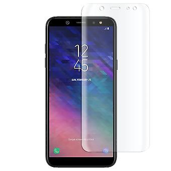1x Full Cover for Samsung Galaxy A6 (2018) Genuine Glass Strong Hard Transparent