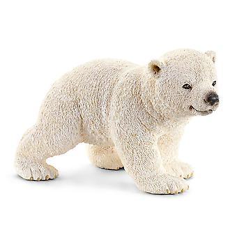Schleich Eisbär Walking Cub