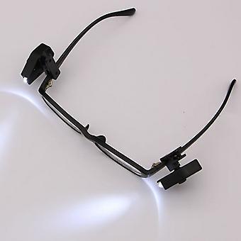 2ks Flexibilní pro čtení knihy Světla noc pro brýle a nástroje