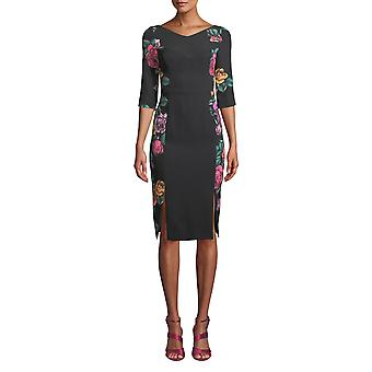 Black Halo | Prism Floral-Print Dress