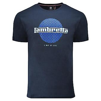 Lambretta Graphic T-Shirt - Navy