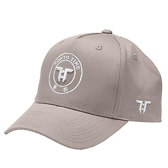 Tokyo Time Care Pack Core Logo Cap - Grey / White