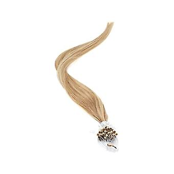 American Pride Micro Ring Human Hair Extension 18 Inch - Bruin/Blond