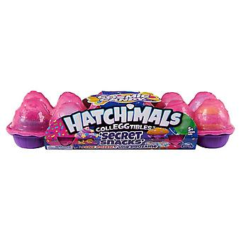 Hatchimals Colleggtibles 12-Pack Egg Carton Cosmic Candy Secret Snacks