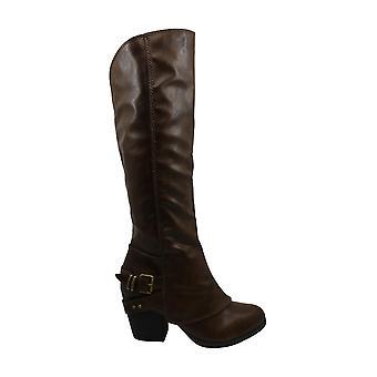 أمريكا خرقة Women & apos أحذية Emilee مغلق توب الركبة أحذية الموضة الراقية