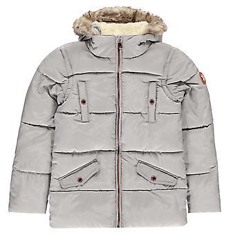 Gelert Girls Storm Parka Jacket Junior Lightweight Full Zip Long Sleeve Top
