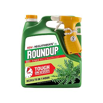 Roundup Speed Ultra Weed Killer Gebrauchbereit 3L 119734