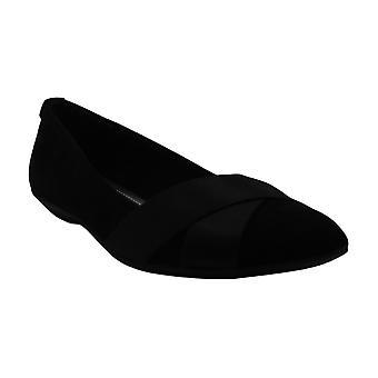 Anne Klein Women's Shoes Koalise Fabric Pointed Toe Slide Flats