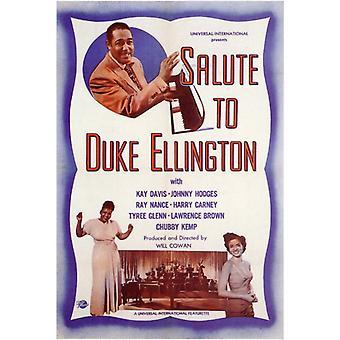 Kunnianosoitus Duke Ellington elokuvan juliste tulosta (27 x 40)