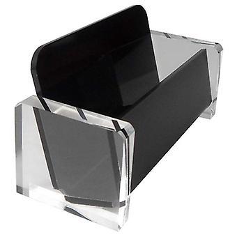Näyttö työpöydälle, akryylipöydän käyntikortin pidike