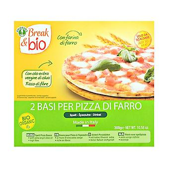 Base for spelled pizza 2 units