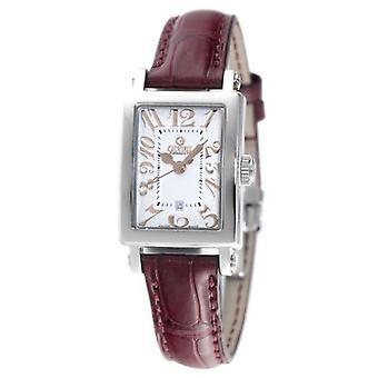 Gevril Mujeres's 8045R Super Mini Reloj de Acero de Cuarzo [Ver]