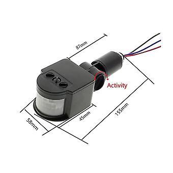 Détecteur de détecteur de mouvement, commutateur automatique infrarouge de lumière de timer de Pir