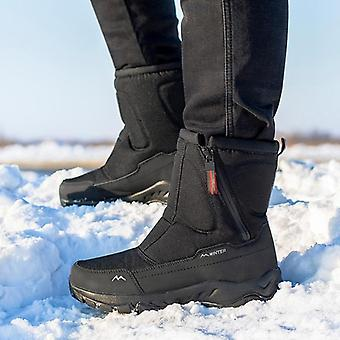 Men Boots Winter Shoes, Waterproof, Non-slip, Thick Fur