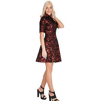 Little full skirt mini dress