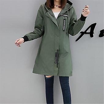 Coat Femei de primăvară, toamnă, Hoodies Top, Plus Size, Slim Baseball Clothes,