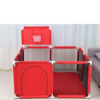 Playpen With Basket Ball Hoop & Football Net