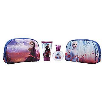 Disney Frozen II Gift Set 50ml EDT + 100ml Shower Gel + Toiletry Bag