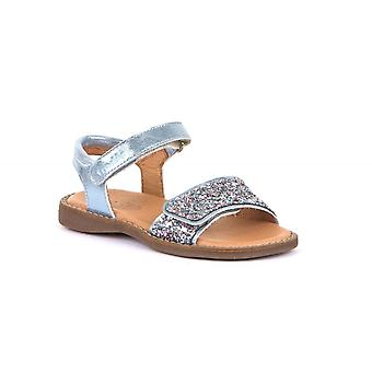 FRODDO Open Toe Sparkle Sandal Baby Blue