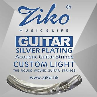 Acoustic Guitar Silver Plating 6 Strings